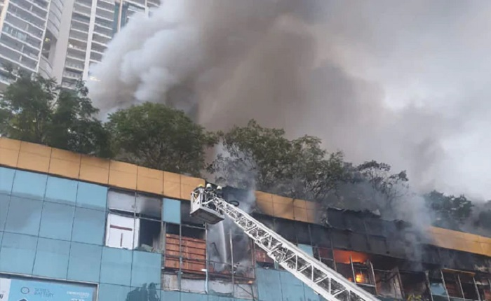 Fire at Mumbai Mall, 3,500 residents evacuated from next building