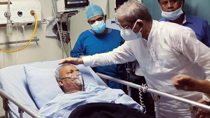 BNP leader Rizvi may return to home shortly as his health condition improves