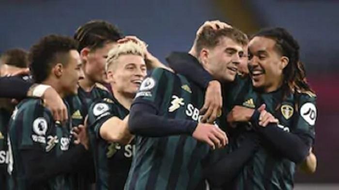 Bamford treble fires Leeds into third as Villa suffer first defeat