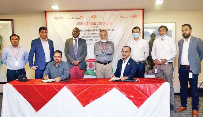 City Bank, World Vision sign deal