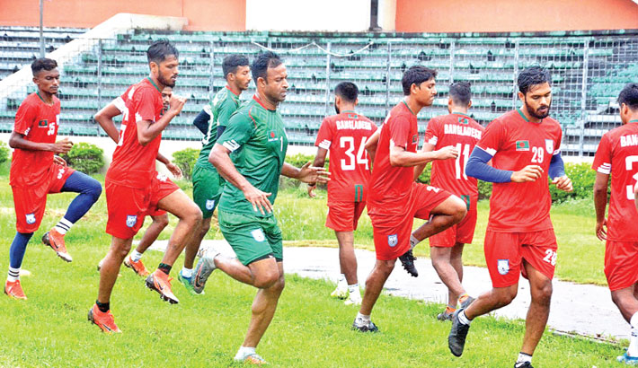 Footballers score satisfactory result in 1st phase Cooper test