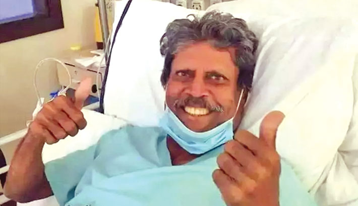 Kapil Dev on 'road to recovery'