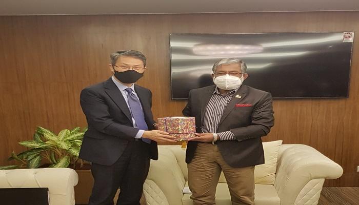 Korean envoy meets BIDA chief, discusses investment