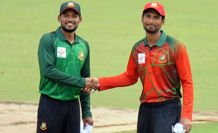 Mahmudullah XI bowl first against Nazmul XI in BCB President's Cup final