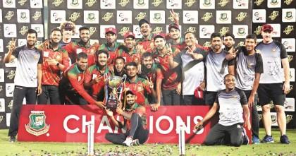 Mahmudullah XI clinch BCB President's Cup title