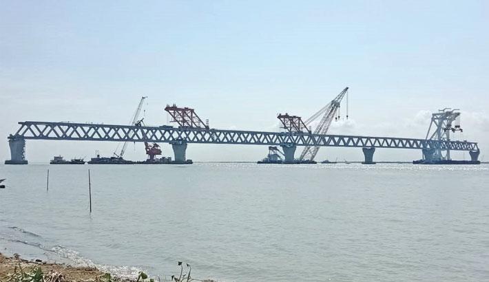 5.1km of Padma Bridge becomes visible
