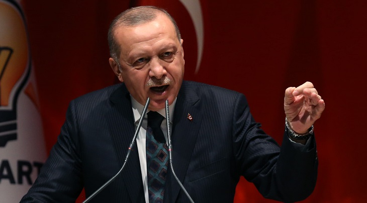 Erdogan urges Europe to stop 'Macron-led hate campaign' against Muslims