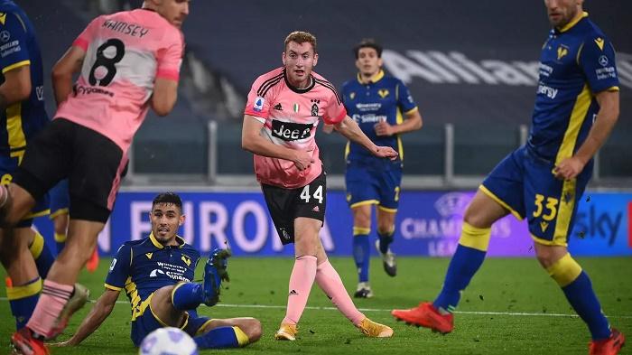 Kulusevski rescues point for Juventus against Verona