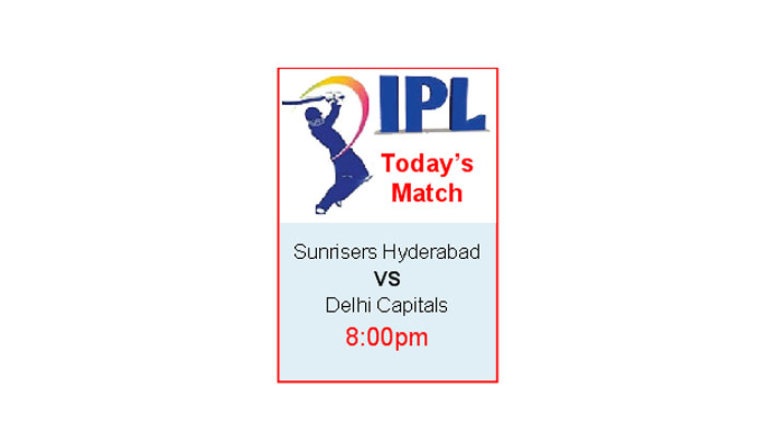 IPL Today's Match