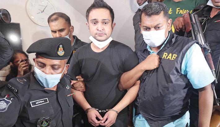 Haji Salim's son jailed after arrest