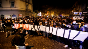 Protests against new coronavirus measures in Italy turn violent