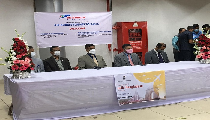 Bangladesh, India formally launch air bubble flights today