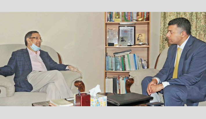 Indian envoy meets Anisul