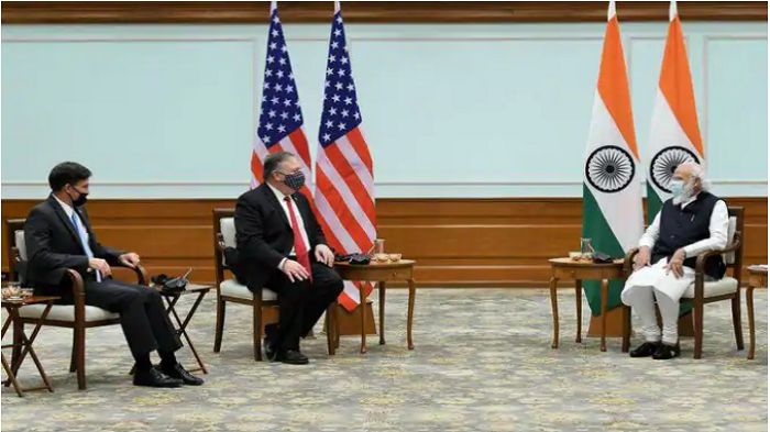 Mike Pompeo, Mark Esper meet PM Modi, convey US interest in strengthening ties with India
