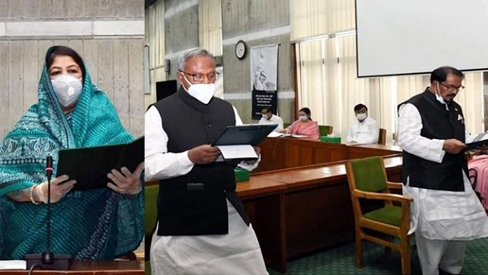 2 newly elected MPs take oath