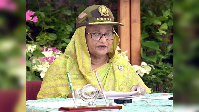 PM asks army to gain more strength to defend Bangladesh