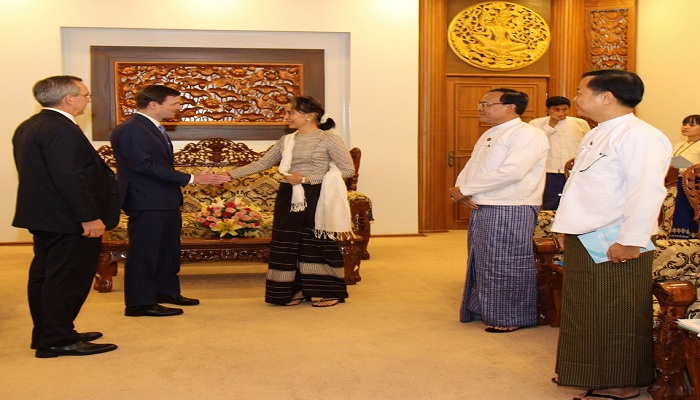 US urges Suu Kyi to initiate Rohingya repatriation