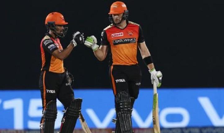 Warner, Saha help Hyderabad stay afloat in IPL race