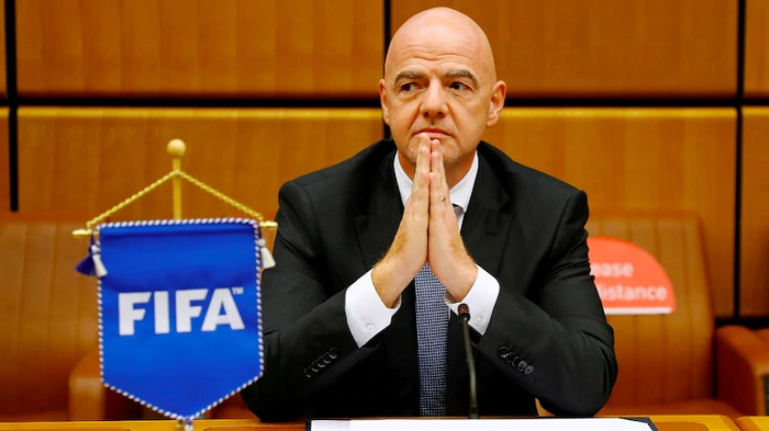 FIFA chief Infantino positive for Covid-19
