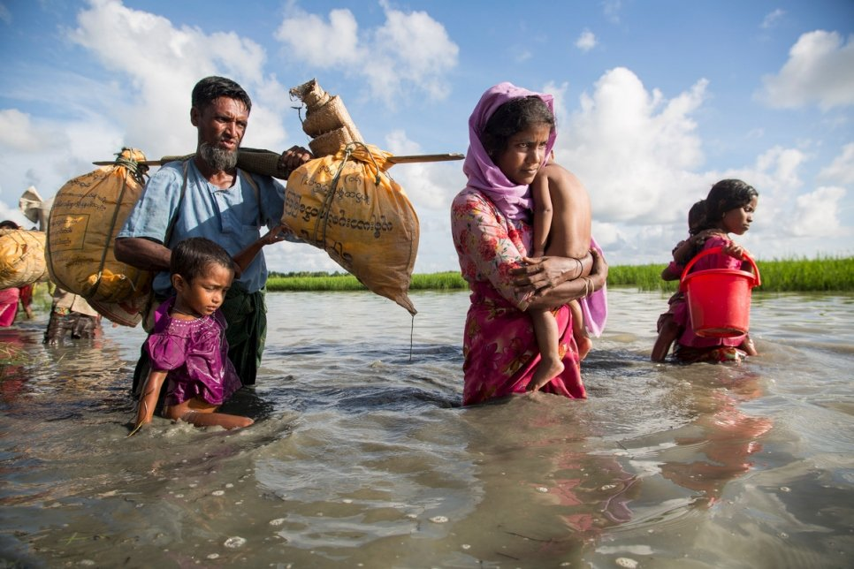 UNHCR appreciates EU's continuous support of Rohingyas and host communities in Bangladesh