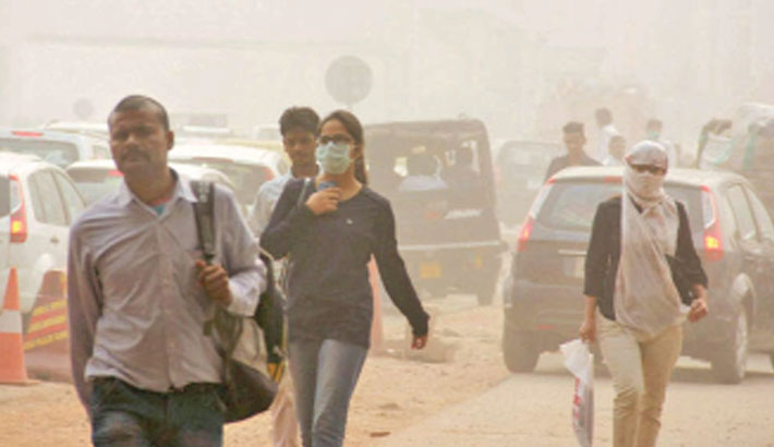 Air pollution linked to 15pc  of corona deaths
