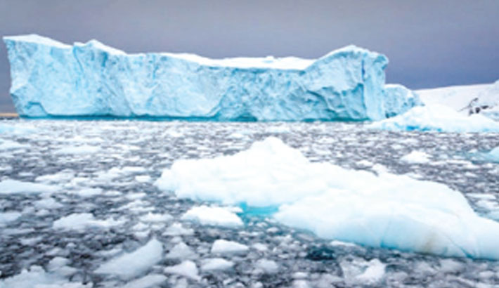 Ice loss to add 0.4C to  global temperatures