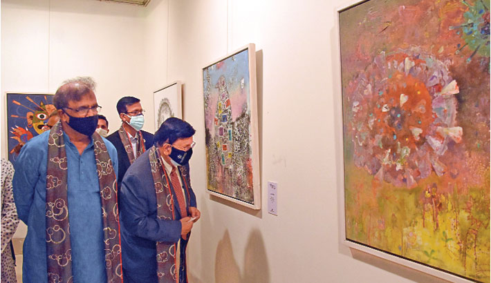'Arts Against Corona' begins at Shilpakala