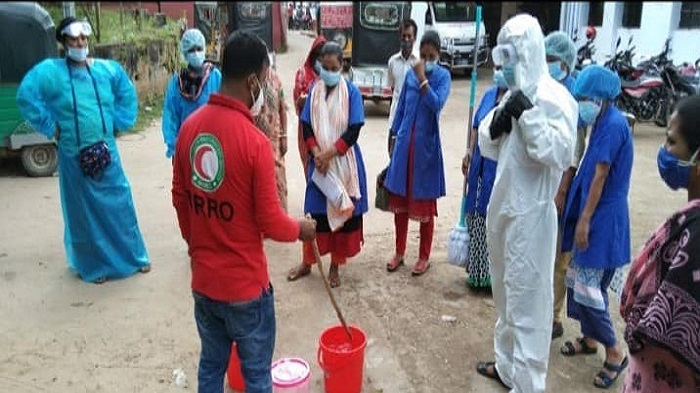Infection prevention scheme for 31 health facilities