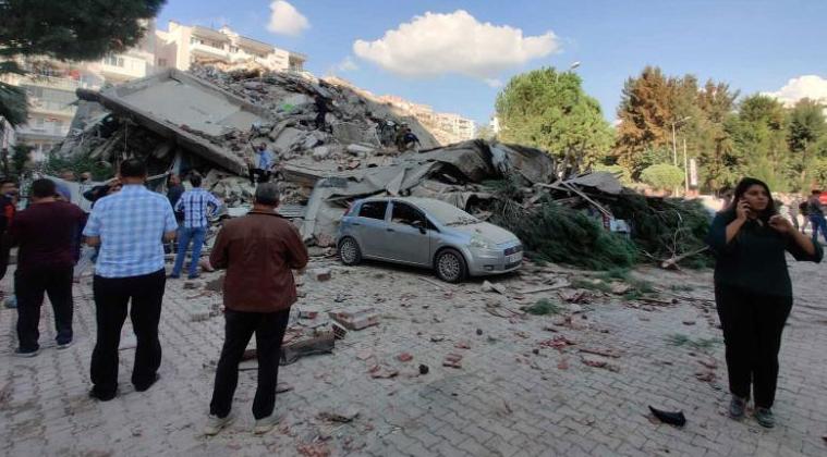 Major earthquake rocks Greece and Turkey, topples buildings