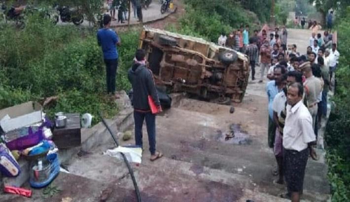 Seven killed in India's Andhra Pradesh road mishap