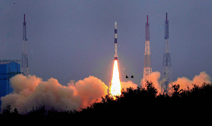 India successfully launches 10 satellites