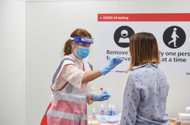Rapid one-hour Covid tests launch at Heathrow for holidaymakers
