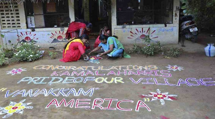 Indians in Harris' ancestral home wake up to her victory