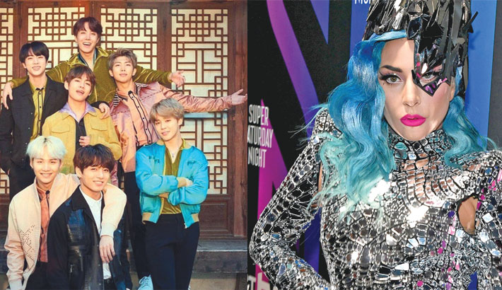 BTS, Lady Gaga win big at MTV Europe Music Awards