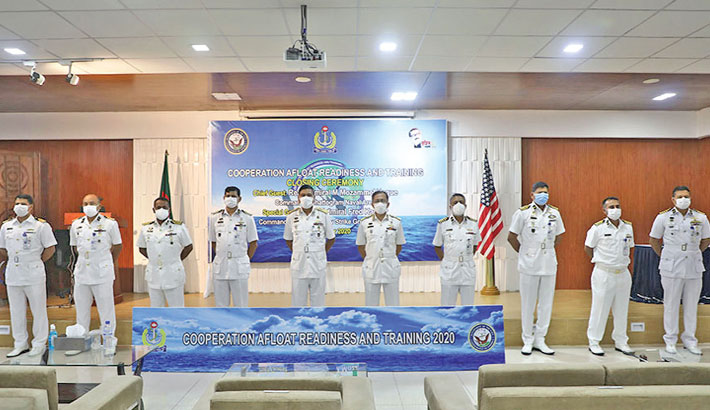 Bangladesh, US Navy joint exercise CARAT-2020 ends