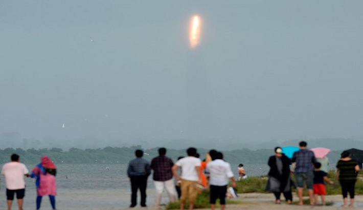 India launches earth observation satellite EOS-01, nine others