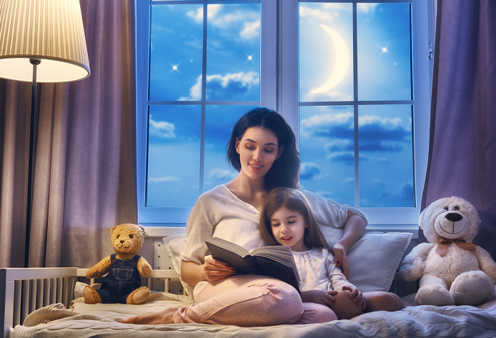 How to tell a great bedtime story