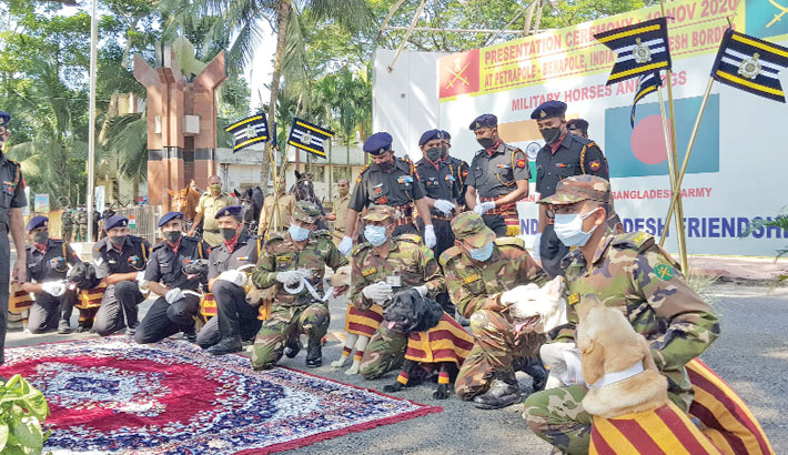 Ceremony held in Petrapole-Benapole check Post