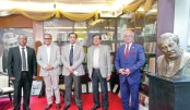 Bashundhara Group MD Sayem Sobhan Anvir visits Agrani Bank