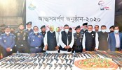 34 robbers surrender in Chattogram