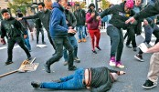 Trump supporters' protests turn into violent clashes