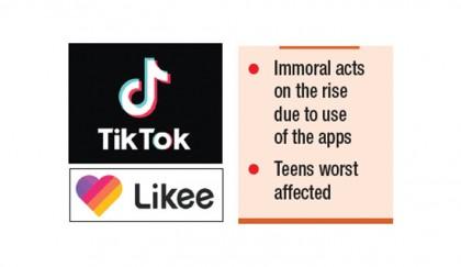 TikTok, Likee turn tools of moral degradation