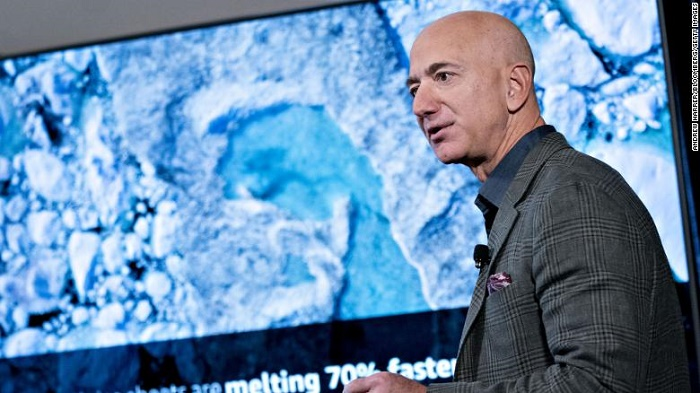 Jeff Bezos announces nearly $800 million in grants to 16 groups fighting climate change