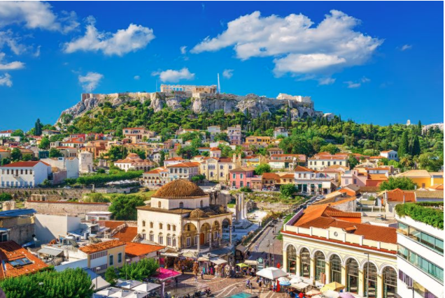 Athens was Brits' top choice for city breaks during summer 2020
