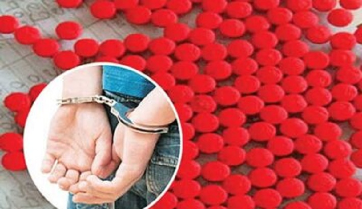 4 held with 15,000 Yaba pills in city's Jatrabari