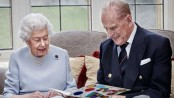 Queen Elizabeth II and Prince Philip mark 73rd wedding anniversary with new portrait