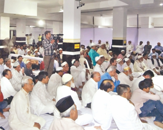 Sheikh Razia's Qulkhwani held