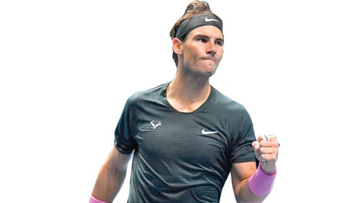 Nadal reaches ATP finals last four