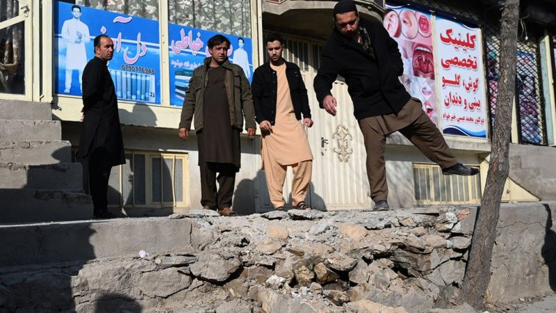Several killed as rockets hit residential areas in Kabul