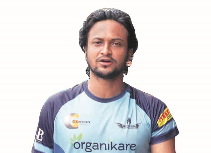 Shakib joins training with teammates
